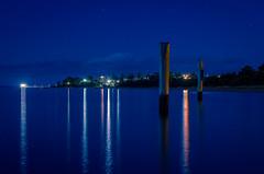 Blue Pylons I