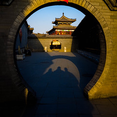 P2220964-Edit.jpg (dana.jensen) Tags: family doors arches mansion archways tianjin exits lanternfestival entrances yangliuqing shij