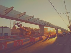 Lnea 3 (sentoul) Tags: cameraphone mobile mexico construction phone metro guadalajara jalisco motorola 2016 trenligero