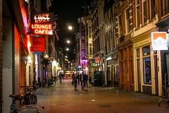 Lost in Amsterdam (adamsarasin) Tags: street night streetphotography eurotrip