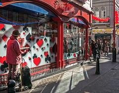 Painting (China Town - London) (Panasonic Lumix LX100) (markdbaynham) Tags: street leica city uk urban london westminster lumix zoom capital central panasonic gb fixed ft metropolis dmc 43rd 43 lx londoner londonist fourthirds evf lx100 2475mm f1728 lumixer