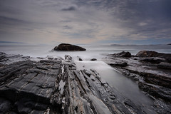 Patience paid off *Explore* (sarah_presh) Tags: longexposure sea usa holiday rocks maine roadtrip atlantic le pemaquid pemaquidpoint leefilters nikond7100
