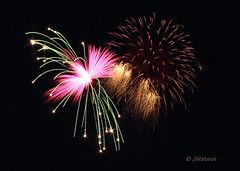 Wrapped Up (VenturaMermaid) Tags: longexposure nightphotography light sky motion color night movement colorful display fireworks unique wpa burst pyro f11 blast blowup pyrotechnics winterblast wrappedup lakehavasufireworks