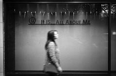 It is all about me (Zeb Andrews) Tags: 35mm portland blackwhite downtown candid streetphotography rangefinder kodaktrix pdx olympusxa essentially filmisnotdead aristapremium400