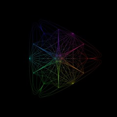 hsl_colorwheel_offset_modulo2_4_12 (Suzana_K) Tags: geometric blackbackground design rainbow spectrum geometry curves digitalart creative programming math generative circular coding colorwheel generativeart javascript quadratic html5canvas hslcolor