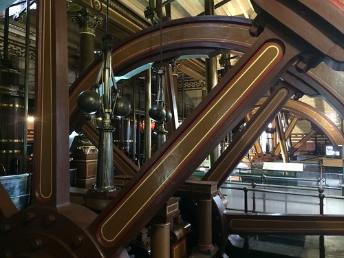 beam engines, Abbey Pumping Station, Leicester