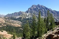 Mt Stuart (Sean Munson) Tags: mountain mountains landscape washington hiking stuart nationalforest wilderness wildernessarea alpinelakeswilderness mtstuart mountstuart alpinelakeswildernessarea ingallsway trail1390 okanoganwenatcheenationalforest ingallswaytrail1390