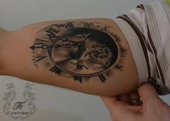 clock_gear_tattoo (TH Tattoo - Salon tatuaje Bucuresti) Tags: tatuajebucuresti clock tattoo gear tatuaj tatuaje shop salon studio ink