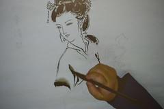 _DSC0086 (Confucius Institute at SDSU) Tags: chinese mohammed sdsu chinesepainting chineseart khaleel confuciusinstitute religiousstudies qinbailan cisdsu bailanqin