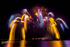 Fantastic fire-fall fireworks (Kostas Trovas) Tags: show longexposure travel light beautiful night canon spectacular cool asia flickr fireworks tripod philippines roadtrip pictureoftheday 6d mallofasia lr6 500px pyromusical mefoto instagram kostasimages