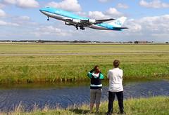 747KLM. HEAM (Josep Oll) Tags: photography airport foto aircraft aviation nederland thenetherlands holanda boeing klm schiphol avin ams spotting jumbo despegue duch spotter polderbaan eham004