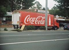 Coca-Cola truck (2) (Matthew Paul Argall) Tags: truck 110 coke cocacola 2016 fixedfocus 110film hanimex1ef