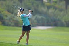 Pernilla Lindberg p Aviara Golf Club vid rond fyra av KIA Classic 2016. (goran.soderqvist) Tags: golf lpga lpgatour pernillalindberg kiaclassic