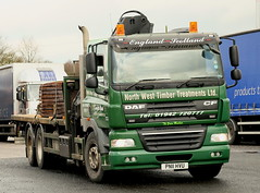 DAF CF 6x4 North West Timber Treatments PN11HVU Frank Hilton IMG_8918 (Frank Hilton.) Tags: classiccommercials classictrucks classiclorry vintangecommercials vintagetrucksclassicbike classiccar foden albion atkinson erf bedford ford classicmotorcycle scania mercedes daf stgocat leyland buses kirkbysteven classiccommercialvehicles truckls lorries vans lorry