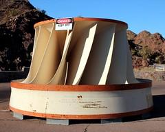 Parker Dam's Engine Turbine (Prayitno / Thank you for (12 millions +) view) Tags: california ca arizona plant electric giant day power mechanical outdoor dam air engine sunny az turbine parker listrik tenaga pembangkit plta konomark