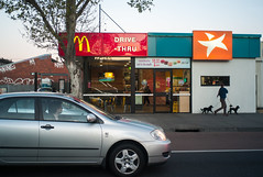 Melb , 2015 (Chesoen Tan) Tags: leica girls people dogs melbourne mcdonalds leicam8