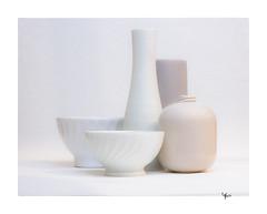Scne 21 -5 pices (gravelin.yves) Tags: vase bol objets vide bote naturemorte