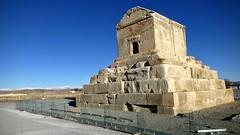 Pasargadae (Barbara CcCcCc) Tags: iran tomb archeology tomba pasargadae fars archeologia pasargade cyrusthegreat ciroilgrande pâthragâda batrakataš