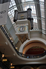 Aus851 - Royal Clock, Queen Victoria Building (Donna's View) Tags: clock nikon sydney australia queenvictoriabuilding d60 royalclock