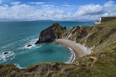 Man O' War Beach (sarah_presh) Tags: sea england bay coast cove dorset april coastline manowarbeach nikond750