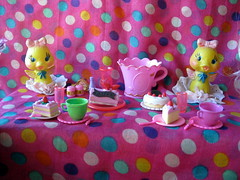 Ducktastic Party (wildathoney) Tags: party white apple cup face up cake duck maddie high doll tea handmade pastel polka sweets after dots custom madeline ever hatter fakie