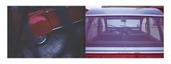 A la recherche du temps perdu. (Polcaroid) Tags: old red cars colors beautiful car canon vintage lens rouge photography colorful citroen voiture 2cv 40 oldcar catchy couleur vieille dyptich 6d carporn canonlens 40mmlens canon6d dytique flickrunitedaward flamboyantes