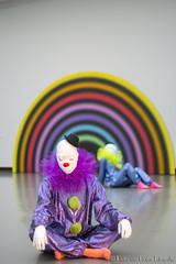 Ugo Rondinone Vocabulary of Solitude 7. (PvRFotografie) Tags: holland museum 50mm clown nederland clowns nex boijmansvanbeuningen ugorondinone minoltamdrokkor50mmf14 sonynex nex6 vocabularyofsolitude
