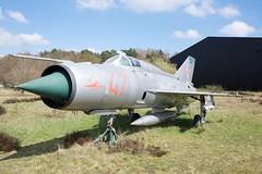DSC_8750 (AperturePaul) Tags: netherlands museum plane nikon fighter aviation jet mig d600 soesterberg luchtvaart