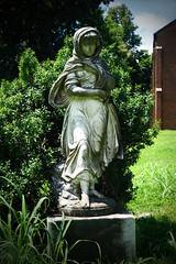 Sad (redhorse5.0) Tags: monument cemetery graveyard statue tennessee episcopalchurch franklintennessee gravemarker brickchurch historiccemetery ashwoodtennessee sonya850 redhorse50 historicoldchurch