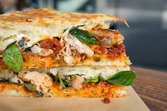 Roasted Chicken Sandwich (Rene S. Suen) Tags: toronto sandwich carver porchetta renedinesout robbragagnolo march2016 sergiofiorino
