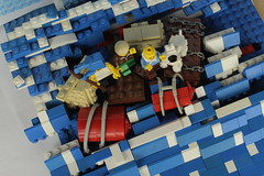 Setup: Tim und Struppi - Kohle an Bord (shortbricks) Tags: comic lego bricks cover short captain setup tintin tribute hommage haddock volume carlsen herge hergé kapitän klap timundstruppi lesaventuresdetintin band18 shortbricks kohleanbord coleenstock