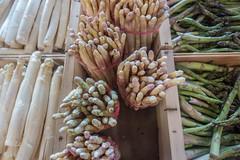 20160424 Provence, France 02613 (R H Kamen) Tags: food white france green market vegetable asparagus choice abundance freshness marketstall vaucluse foodmarket carpentras provencealpesctedazur highangleview rhkamen