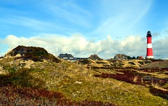 Island landscape (Tobi_2008) Tags: sky lighthouse germany island deutschland himmel insel ciel sylt allemagne leuchtturm schleswigholstein ruby3 supershot