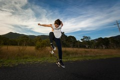 Stylin (benpearse) Tags: road photography photographer ben country skating commercial valley april skater megalong 2016 pearse urbanskating bluemountainsphotographer