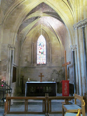 Pershore Abbey, Worcs (pefkosmad) Tags: uk england church abbey worship interior chapel altar inside worcestershire anglican placeofworship hallowedground churchofengland pershore englandsthousandbestchurches