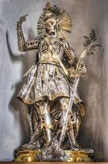 Catacomben-Saint  Pankratius. (Christian Boss) Tags: church skulls catholic saints surreal bones martyr martyrs heiliger katholisch reliquien schrein heilige skelett knochen schdel reliquias gerippe einfarbig leiber reliquiary relicarios reliquienschrein skelettons katakombenheilige katakombenheiliger
