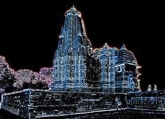 India - Madhya Pradesh - Khajuraho - Temple - 257b (asienman) Tags: india khajuraho madhyapradesh khajurahogroupofmonuments asienmanphotography asienmanphotoart
