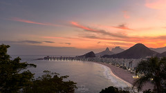 Sunset @Copacabana, #RiodeJaneiro, #Brazil (rafa bahiense) Tags: ocean life travel pink blue friends light sunset shadow pordosol red brazil favorite orange sun sunlight white mountain black colour green beach southamerica nature beautiful yellow riodejaneiro clouds sunrise wonderful dark relax landscape photography photo fantastic nikon flickr cidademaravilhosa like peaceful atmosphere copacabana explore stunning therapy nikkor urca carioca leme leblon discover olympicgames 1735mm jogosolmpicos d610 fortedoleme digitalblending wonderfulcity 500px d7000 rio2016 rio450anos rafabahiense avenidaatlntica