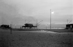 Untitled (Matteo.r) Tags: sea blackandwhite italy white black english love film easter boats kodak trix 400 filmphotography blackandwhitefilm agilux agimatic