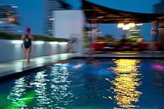(labaronne) Tags: bangkok flou piscine thailande