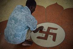 Shri Cutch Satsang Swaminarayan Temple (robseye76) Tags: africa holiday temple kenya hindu vacations kenia mombasa shri satsang wakacje swaminarayan cutch afryka