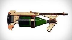 Champagne Gun ไอเท็มเก๋ๆ รับวันสงกรานต์ กับความรู้ทางฟิสิกส์ เรื่องปืนฉีดน้ำ    เทศกาลสงกรานต์ไทยๆ ของเรามีนานทีปีหน เราขอนำเสนอไอเท็มเก๋ๆ รับวันสงกรานต์ที่ไม่ได้เป็นไอเดียของคนไทย แต่กลับเป็นไอเดียของฝรั่งตาน้ำข้าวไปเสียนี่ ในรูปโฉมของปืนฉีดเครื่องดื่มแอ