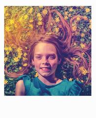 Springtime (geert.dehert) Tags: flowers people girl photoshop children polaroid photography spring outdoor portraiture d750 voightlander portret springtime warmlight lightroom cs6 softwarm portraiturephotography portraiturephotographer