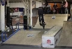 mid Bar (5050 Skatepark) Tags: new york city nyc island bmx scooter skatepark 5050 staten