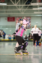CNYRD_Wonder_Brawlers_vs_South_Shire_Battle_Cats_36_20160402 (Hispanic Attack) Tags: rollerderby battlecats srd cnyrd centralnewyorkrollerderby southshirerollerderby