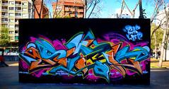 Paral-lel, Barcelona (SMAK TOWN) Tags: barcelona bristol graffiti barca read skate parallel weep smak 2016