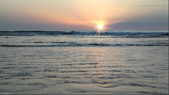 Sunset (Mystycat =^..^=) Tags: sunset france soleil eau coucherdesoleil aquitaine gironde ocanatlantique leporgeocan legressier