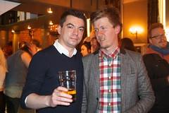 Sara's birthday (Gary Kinsman) Tags: birthday london bar pose pub camden flash posed camdentown nw1 hawleyarms 2013 castlehavenroad fujix100 fujifilmfinepixx100