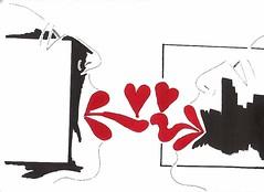 (iloveart106) Tags: en love les french se kiss kissing couple  amor el que lovers how franais learn beso dans lamour  amantes  baiser amoureux ak francs aprende pares  nasl   iinde  baisers ift besan fransz   apprenez  renmek    pme embrassant          severler pc