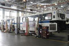 IMG_7208 (GojiMet86) Tags: mta transit museum nyc new york city bus buses 2003 d60hf 5661 grand avenue depot cmf control maintanence facility tour